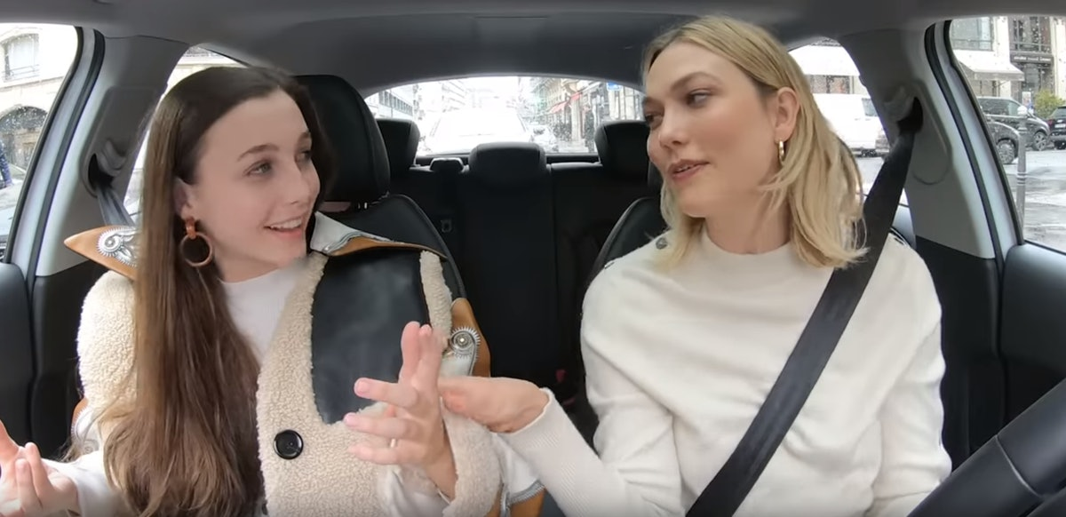 This Video Of Emma Chamberlain & Karlie Kloss Hanging In Paris Will Give You So Much FOMO
