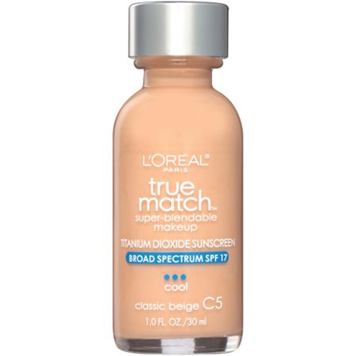 L'Oréal Paris True Match Super-Blendable Foundation Makeup