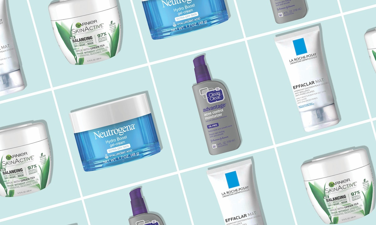 The 5 Best Drugstore Moisturizers For Oily Skin