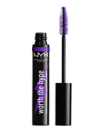 NYX Worth the Hype Volumizing & Lengthening Mascara in Purple
