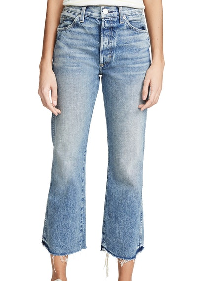 Emma Relaxed Cropped Boot Jeans