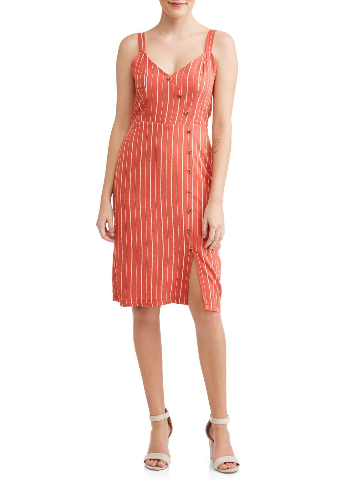 Love Sadie Women's Button Detail Dress