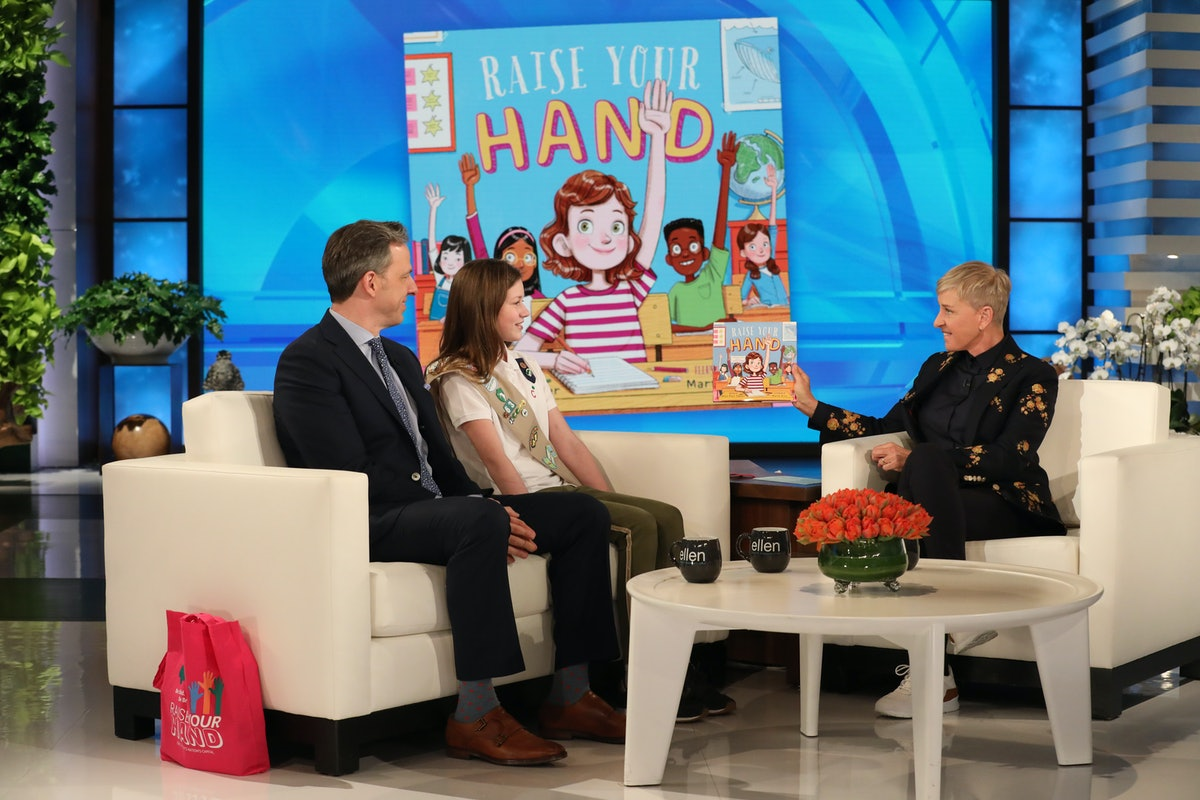 """Jake Tapper's Daughter Wrote A Book Called """"Raise Your Hand"""" To Encourage Girls Everywhere To Speak Up"""