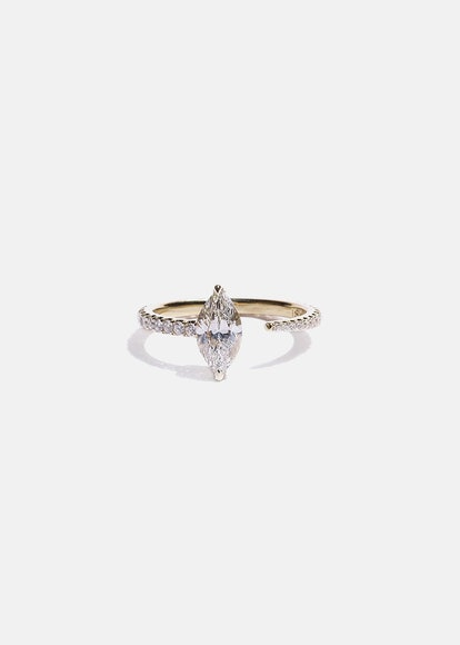 Marquise Crescendo Pavé Ring