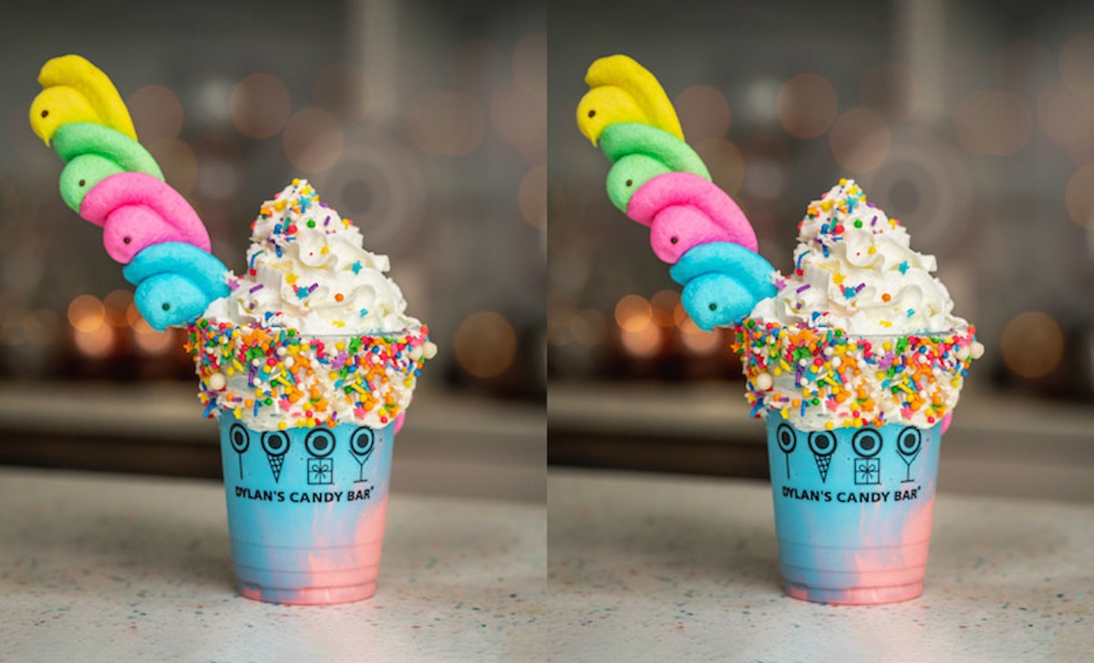 """This """"Chillin' With My Peeps"""" Shake At Dylan's Candy Bar Will Make Your Easter So Sweet"""