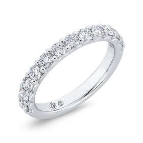 Bella Ponte Diamond Band in Platinum