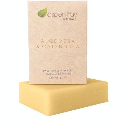 Aspen Kay Naturals Aloe Vera & Calendula Bar Soap