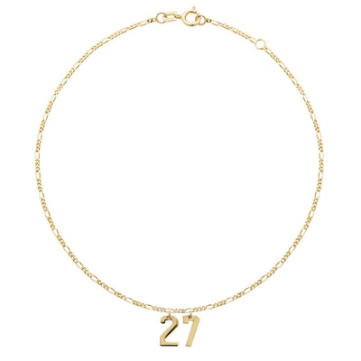 Double Number Anklet