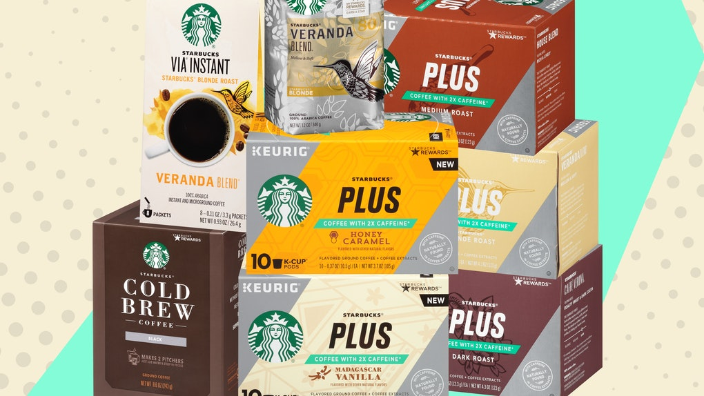 These At Home Starbucks Drinks With The Most Caffeine Will