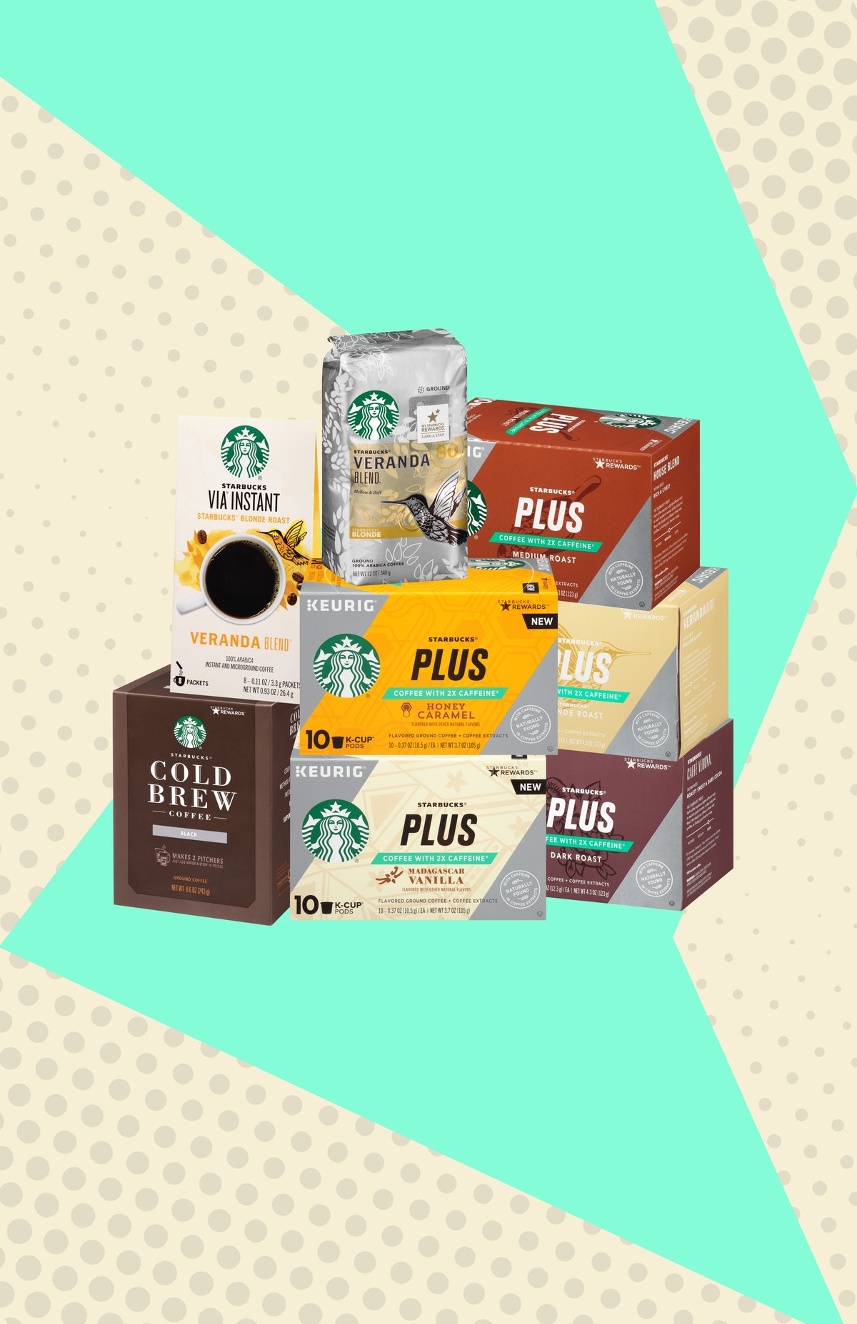 These At-Home Starbucks Drinks With The Most Caffeine Will Keep You Going This Spring