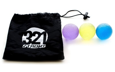 321 Strong Hand Therapy Grip Balls (3 Pack)