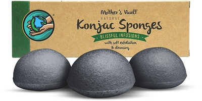 Mother's Vault Konjac Sponges (3 Pack)