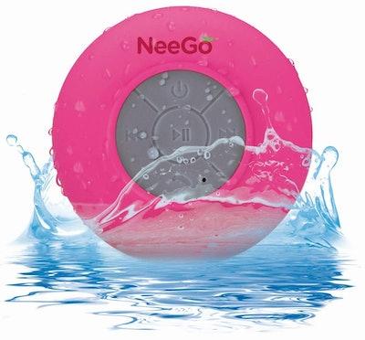 NEEGO Waterproof Shower Speaker