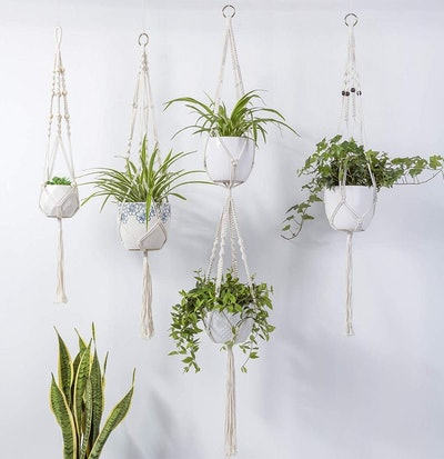 Set Of 4 Hanging Plant Hangers