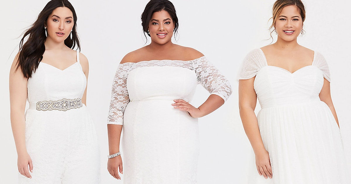 What's In Torrid's Wedding Dress Collection? Dreamy Pieces