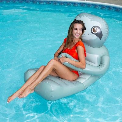 SwimWays Huggables Sloth Oversized Float