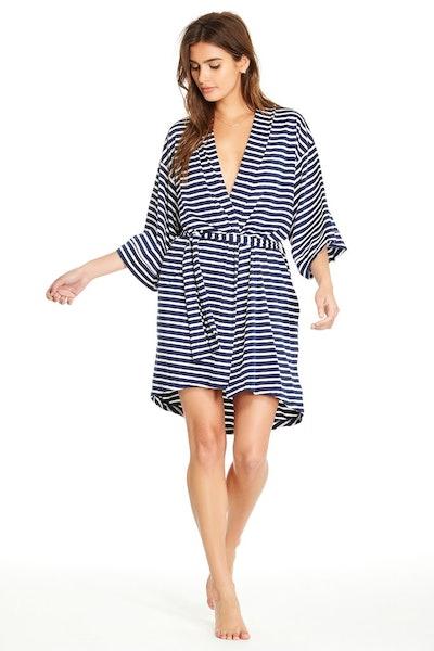 Florence Robe (Navy Stripe)