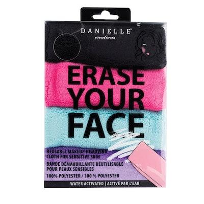 Danielle Reusable Makeup Removing Cloths (4 Pack)