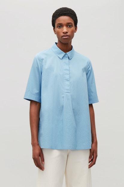 A-Line Short-Sleeved Shirt