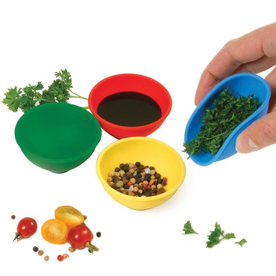 Norpro Silicone Mini Pinch Bowls (Set Of 4)