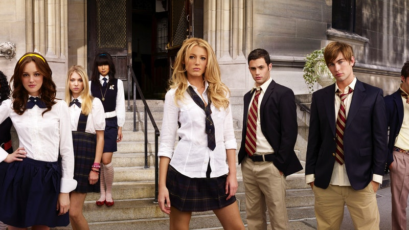 The Gossip Girl Characters by Myers-Briggs Type