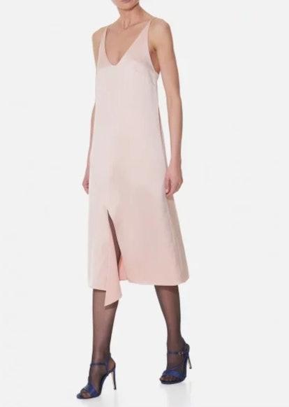 Celestia Satin Slip Dress