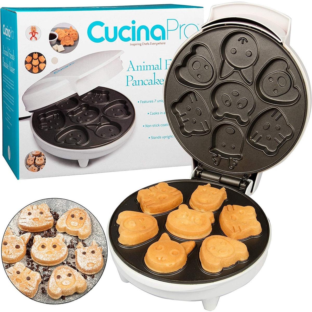 CucinaPro Animal Mini Waffle Maker