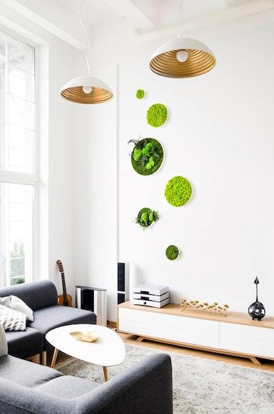 Scandinavian Moss Wall Art