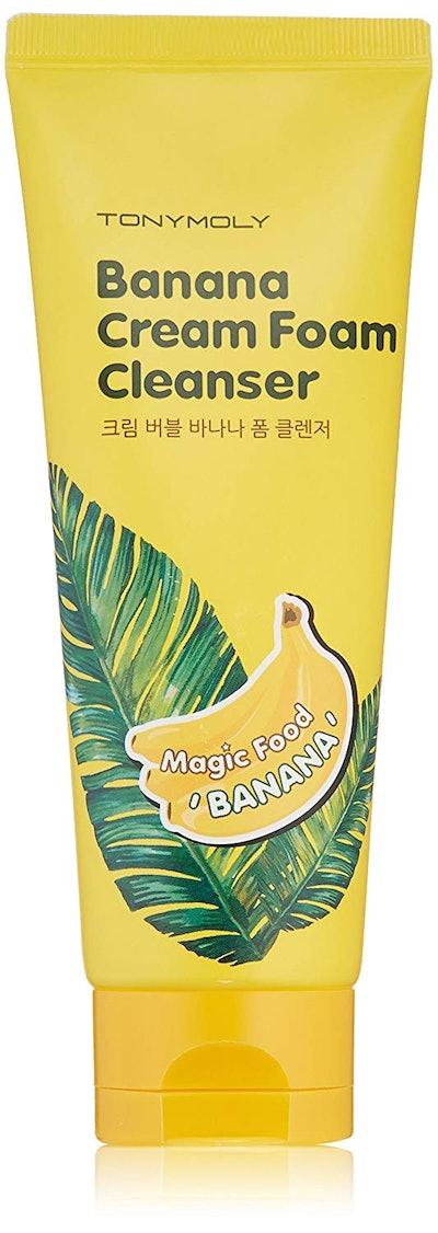 TONYMOLY Banana Cream Foam Cleanser