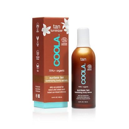 Organic Sunless Tan Luminizing Body Serum