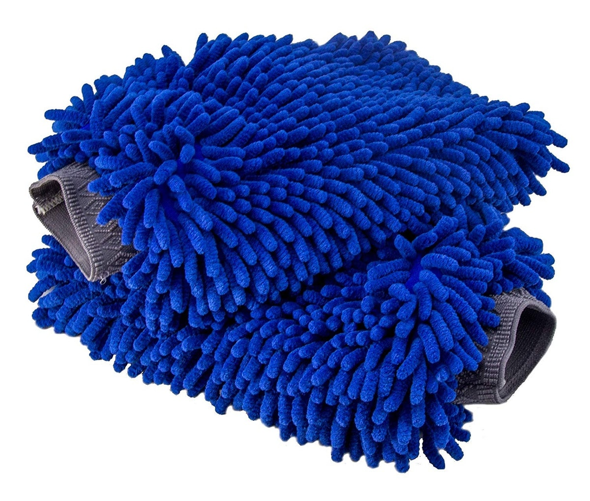 Relentless Drive Car Wash Mitts (2 Pack)