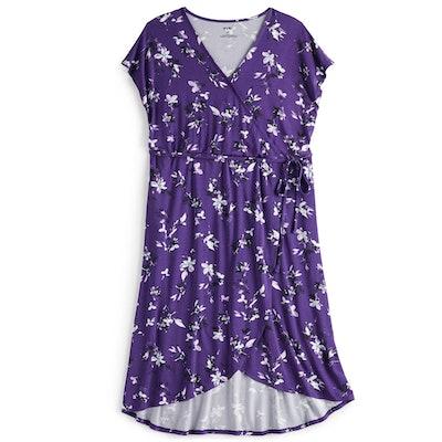 EVRI Wrap Midi Dress
