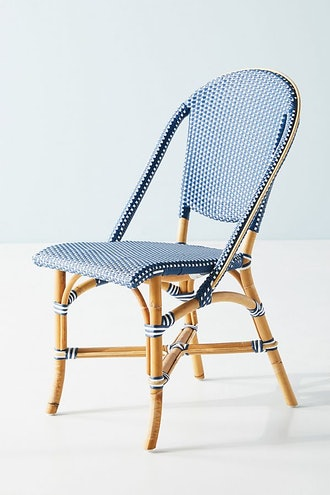 Woven Dots Bistro Chair