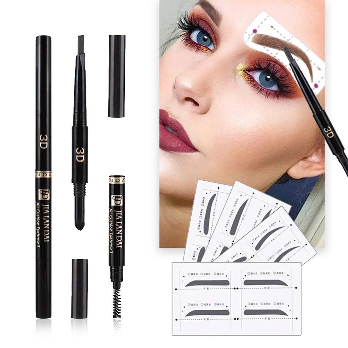 BQ Hair Eyebrow Stencils Set