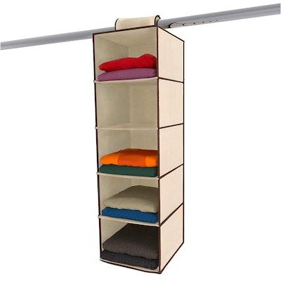 Ziz Home Hanging Closet Organizer
