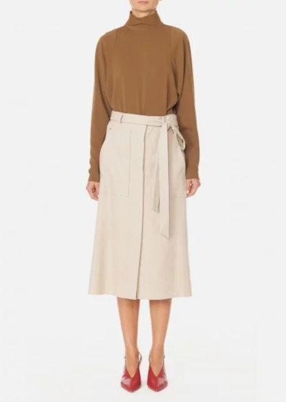 Owen Twill A-Line Skirt