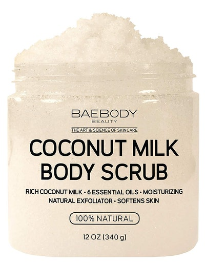 Baebody Coconut Milk Body Scrub