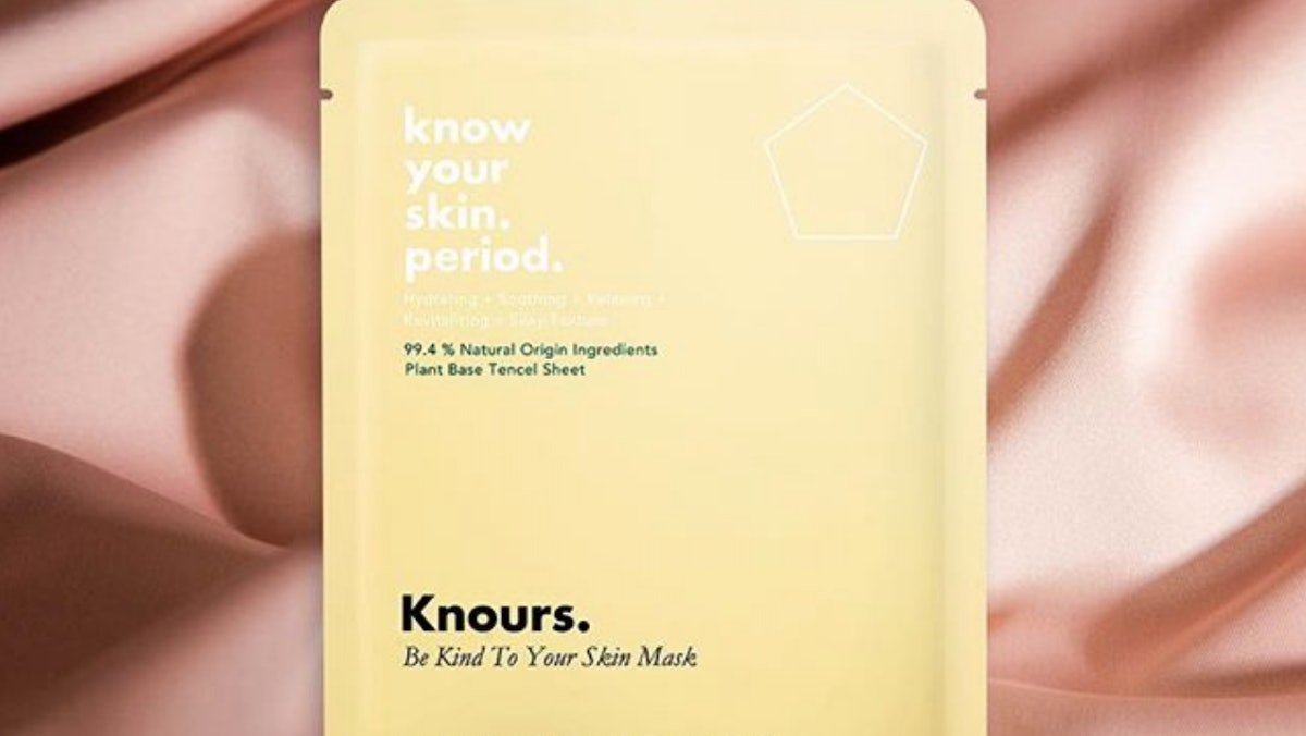 Where To Buy Knours Period Sheet Mask For Your Super Sensitive Period Skin