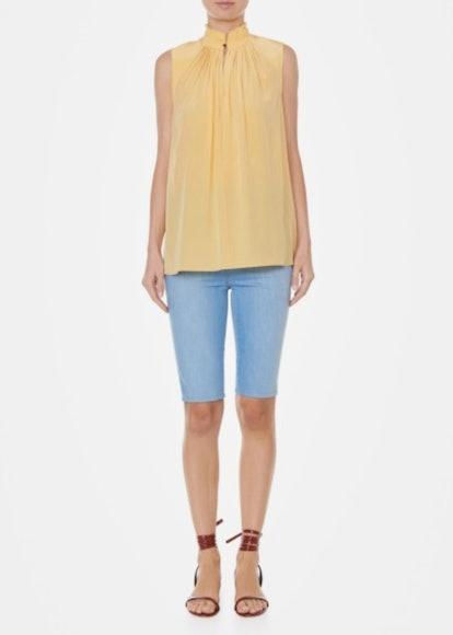 Arielle Silk Sleeveless Top