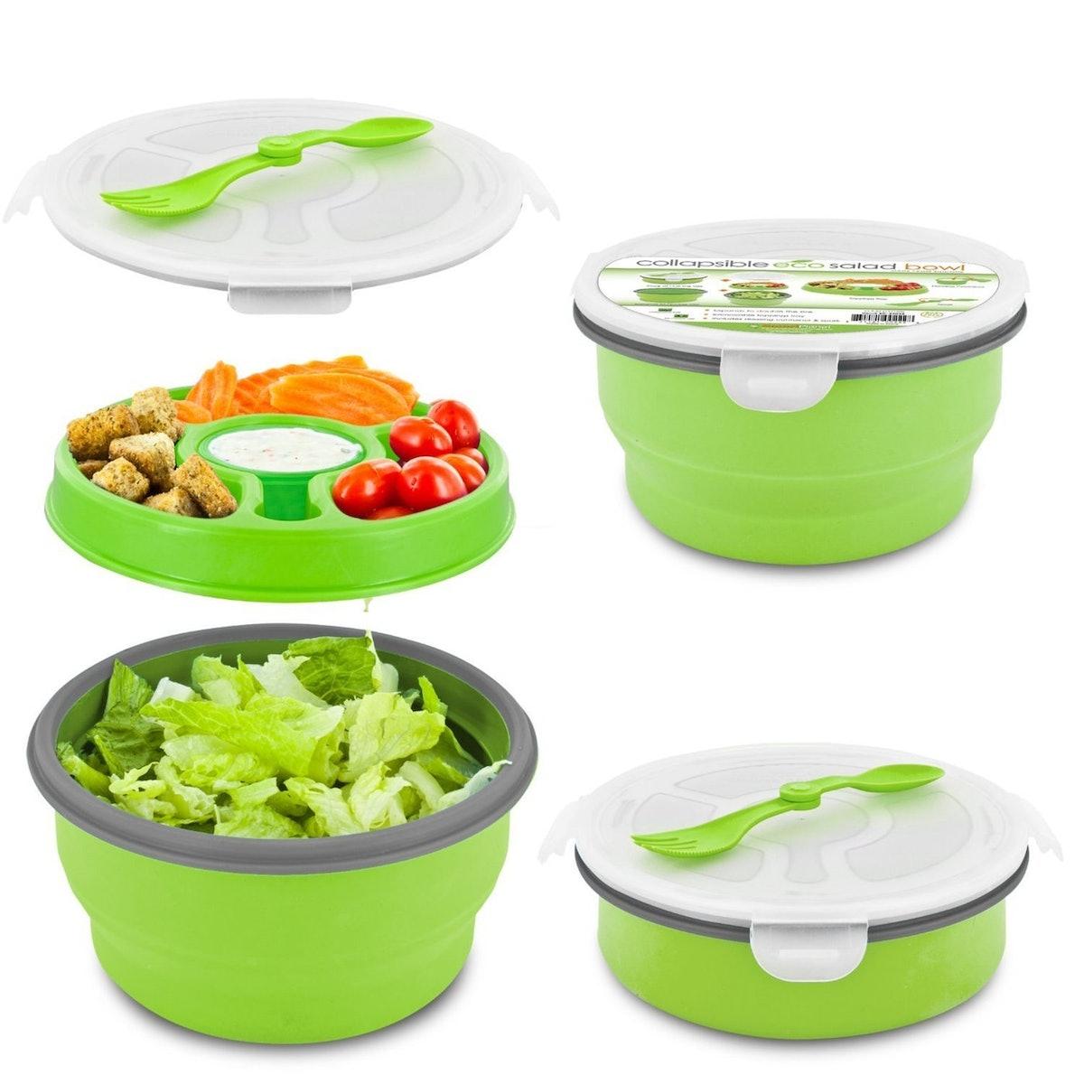 Smart Planet Collapsible Salad Bowl