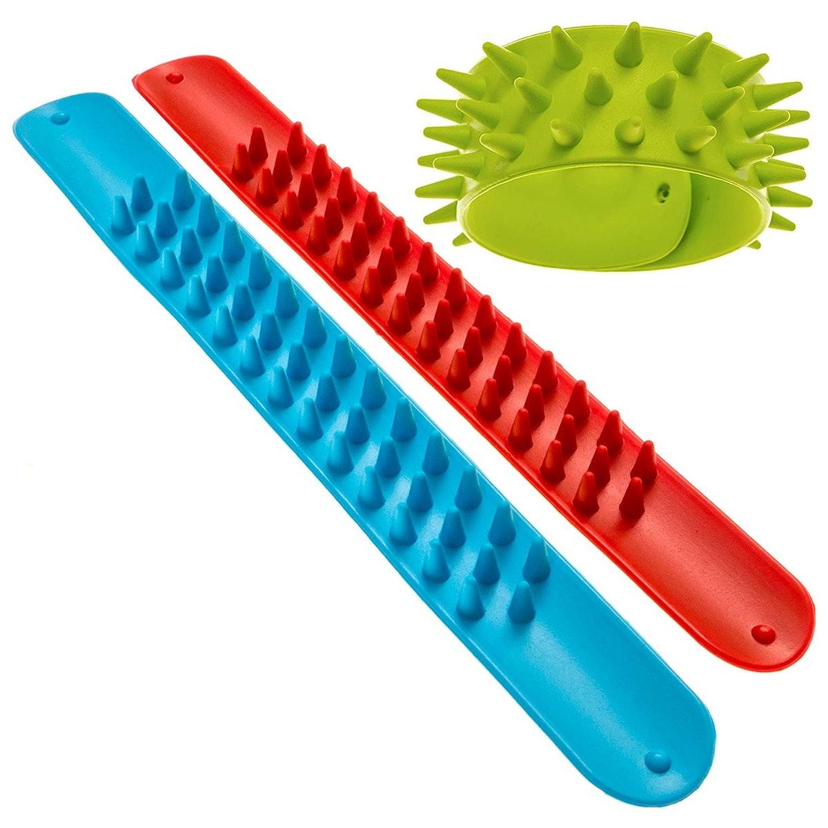 Impresa Products Spiky Slap Bracelets  (3 Pack)