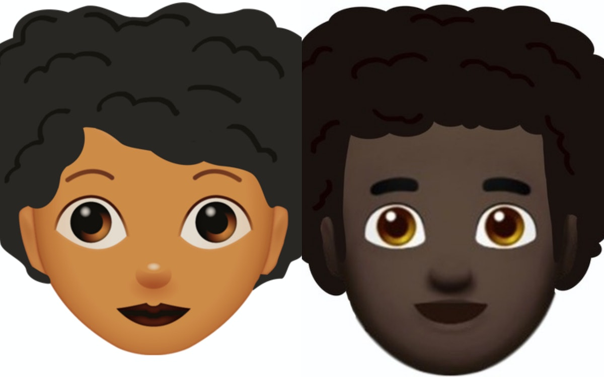 A Petition For Emoji With Afro Hair, #AfroHairMatters, Is Campaigning For Representation In The Digital Space