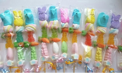 Easter Peeps Candy Kabob (Pack of 15)