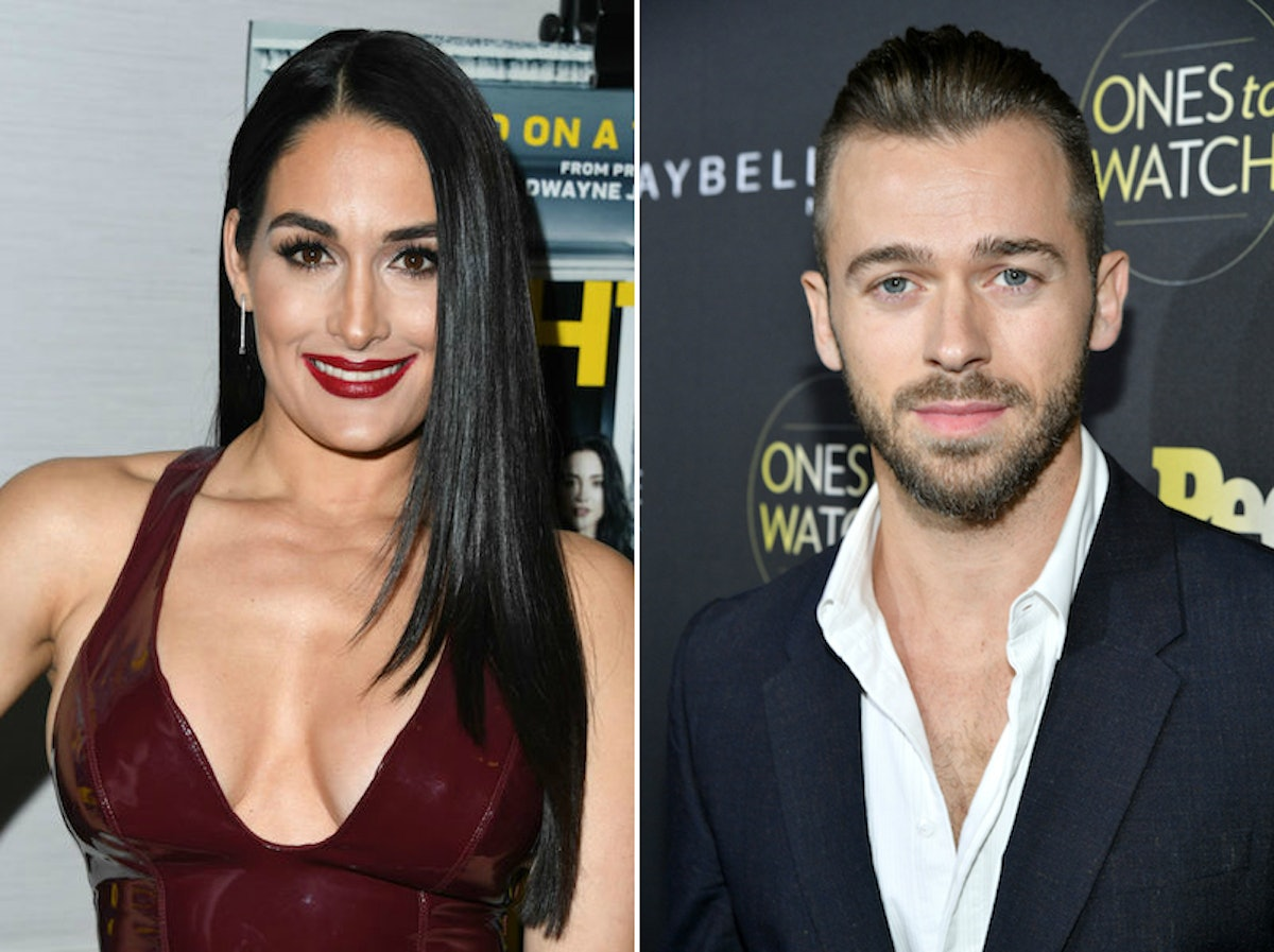 Nikki Bella & Artem Chigvintsev Are Instagram Official, & They're So Cute Together