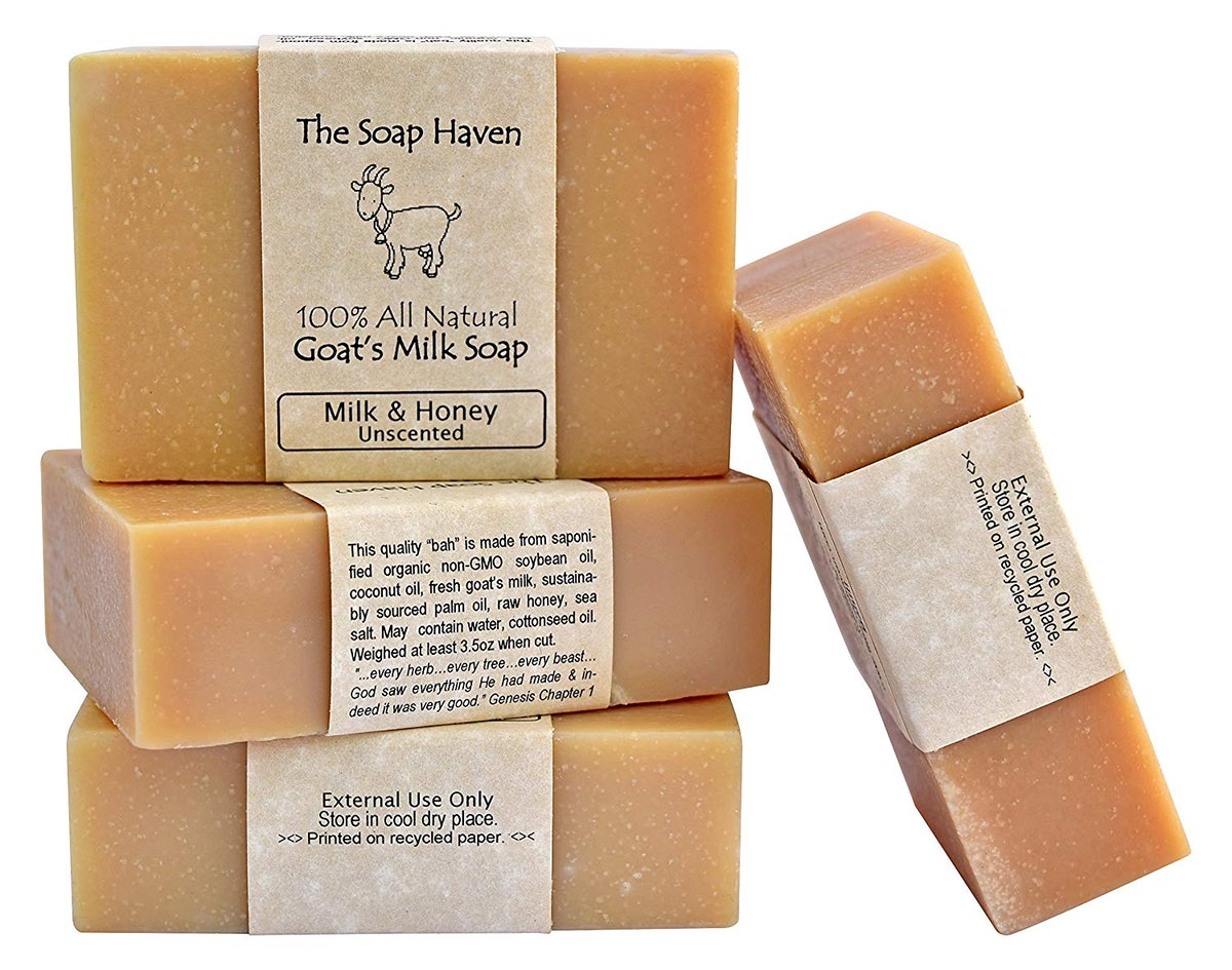 The Soap Haven Goat's Milk Soap (4 Pack)