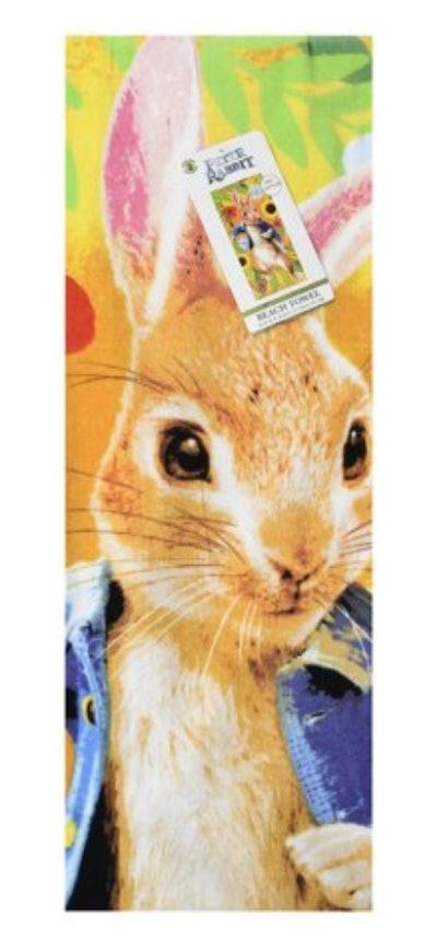 Peter Rabbit Cotton Beach Towel