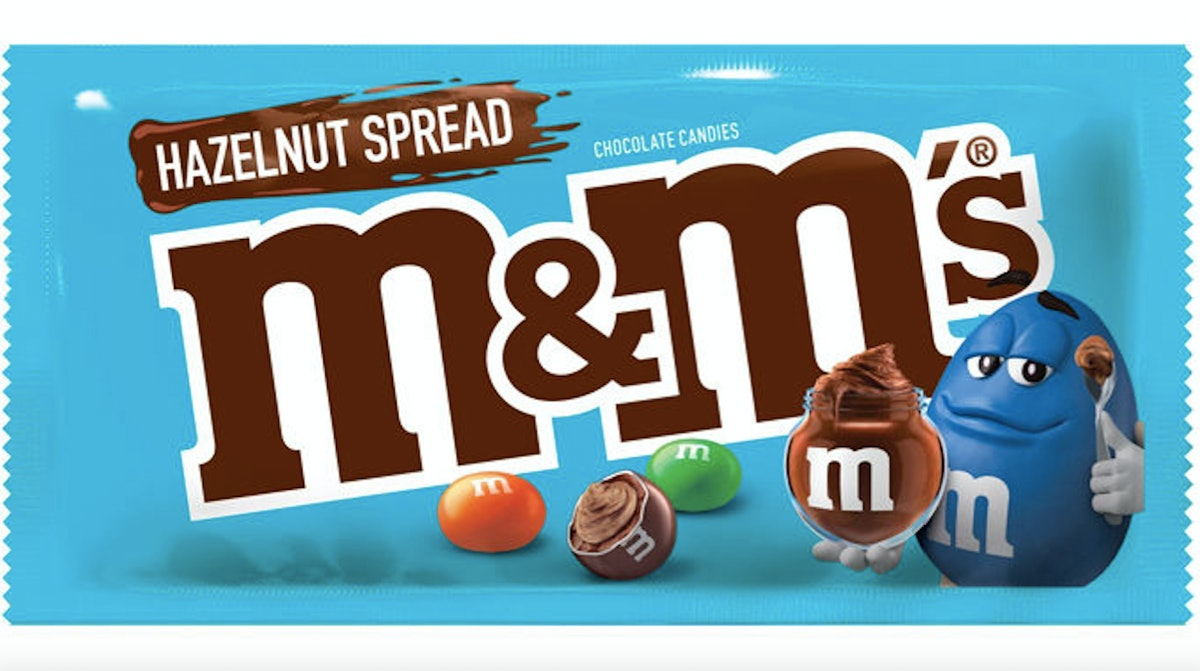 "Hazelnut Spread M&M's, Or ""Nutella M&M's,"" Are Hitting Shelves In April"