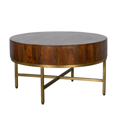 Montreal 32-inch Round Coffee Table by Kosas Home