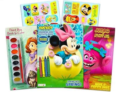 Disney Easter Coloring Books Super Set