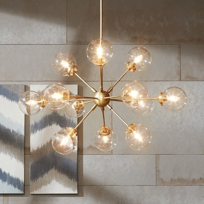 Carson Carrington Ukmerge Goldtone Chandelier